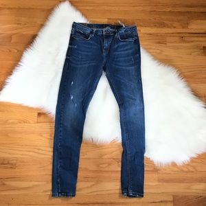 Zara Trafaluc Distressed Skinny Jeans